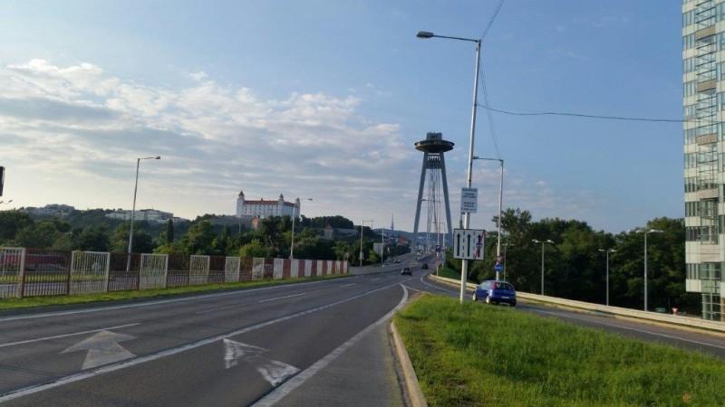 Pogled na bratislavski grad